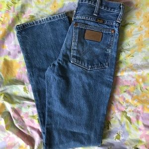Vintage Medium Wash Wranglers Jeans